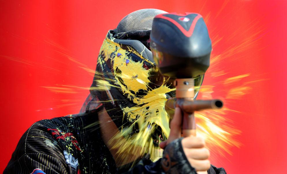 Bill-Frakes-Ambassador-paintball-shooter